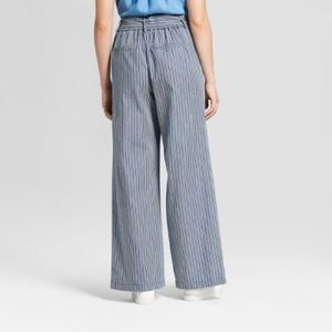 A New Day High Waisted Wide Leg Striped Pants